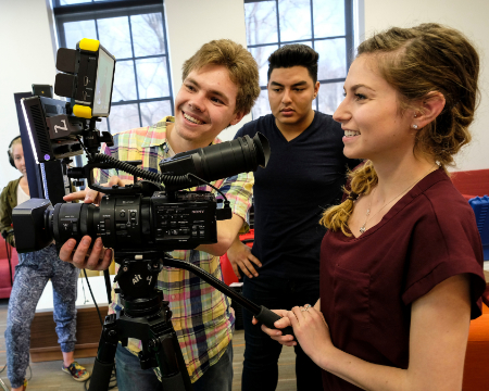 Film and television production at URI Harrington School