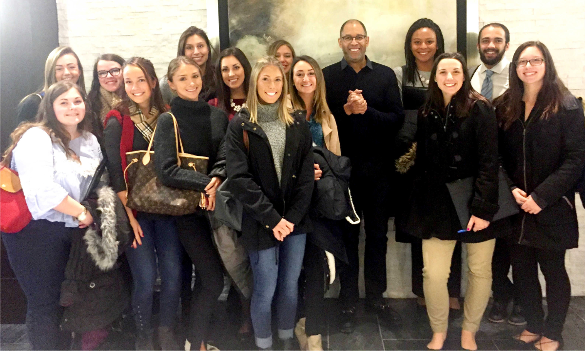 Students visit Alex and Ani