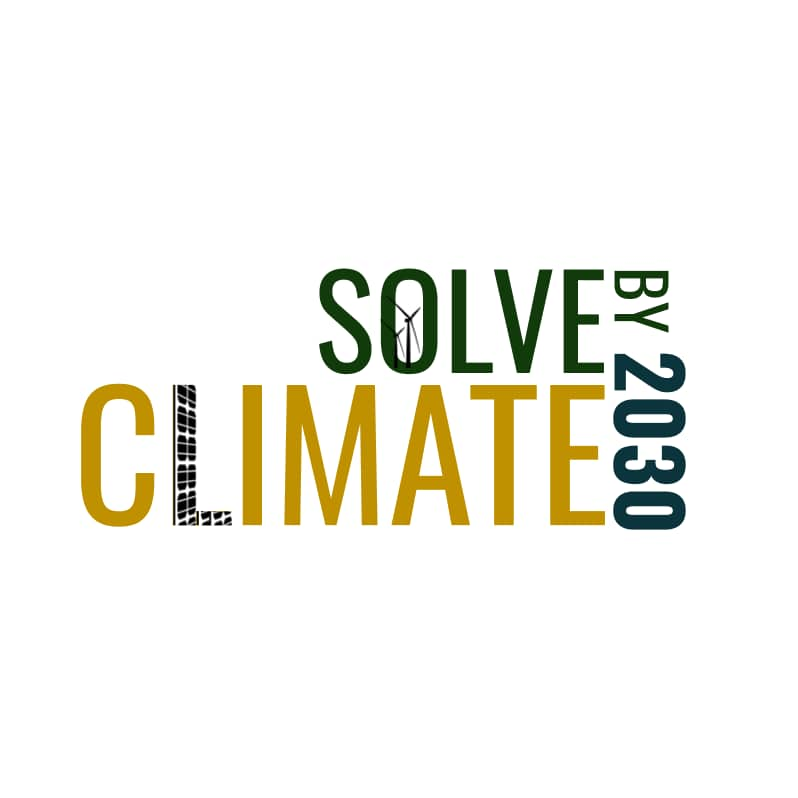 Solve Climate by 2030 Logo